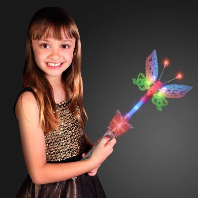 flashing butterfly wand,butterfly wands,sensory lights,dark den lights,dark den lighting,dark den lights